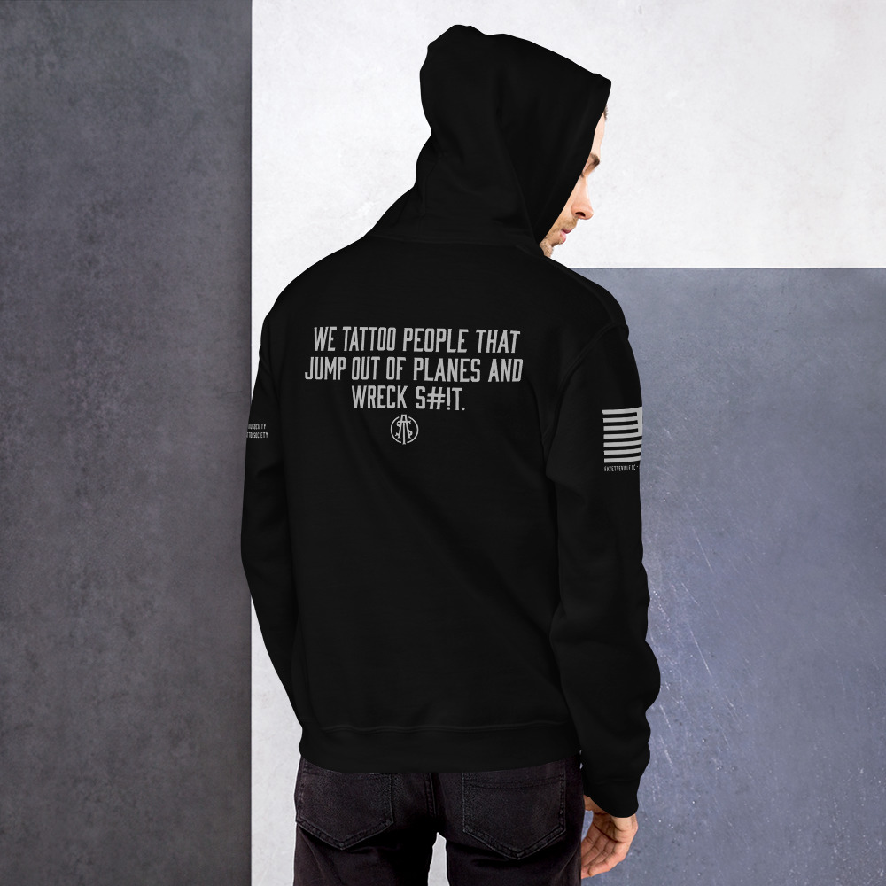 ATS Icon Fayetteville/Fort Bragg NC Unisex Hoodie